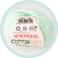 Wolle Mondial Cotton Soft Bio neonmint