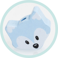 Mini-Fuchs babyblau - Frida Mini Fox
