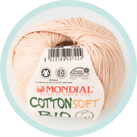 Wolle Mondial Cotton Soft Bio natur